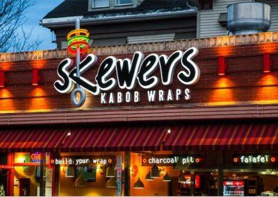 Skewer's Kabob Wraps, Providence, RI